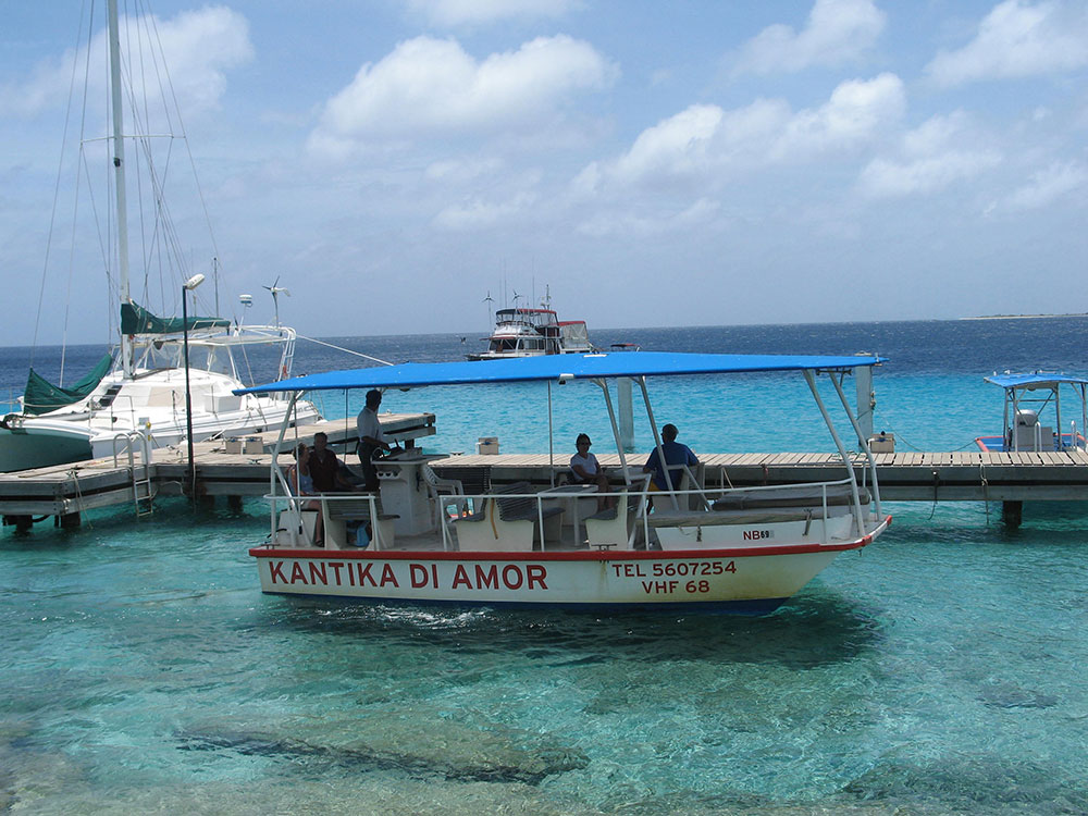water taxi to Klein Bonaire